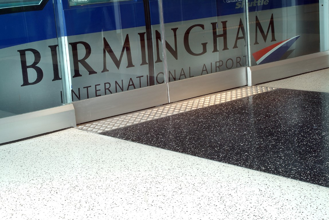 Birmingham International Airport WB Flowcrete